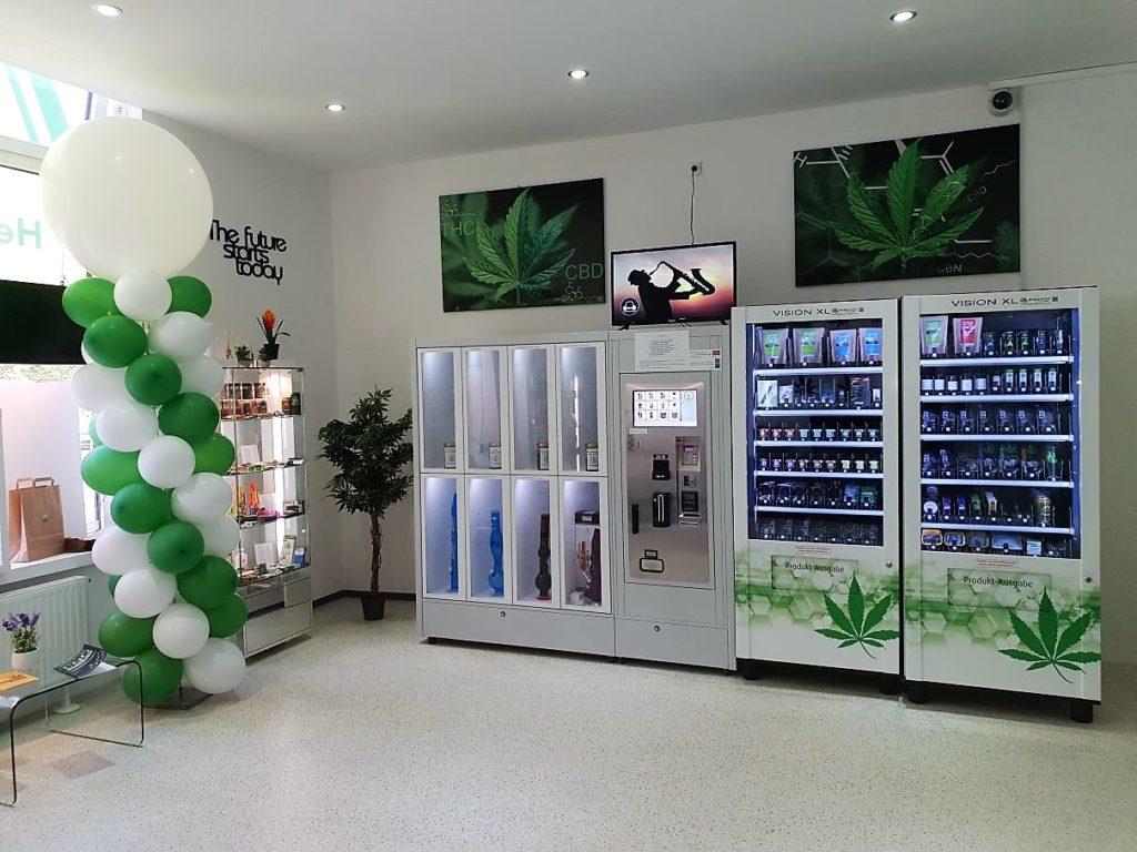 Hanftasia Shop von Innen