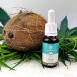 CBD Hanf-Tropfen ohne THC 20% Kokosgeschmack laborgeprüft