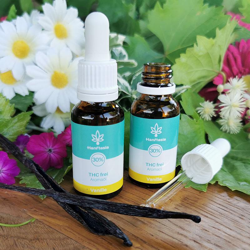 CBD Hanf-Tropfen ohne THC 30% Vanillegeschmack laborgeprüft