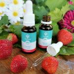 CBD Hanf-Tropfen ohne THC 5% Erdbeergeschmack laborgeprüft