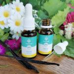 CBD Hanf-Tropfen ohne THC 20% Vanillegeschmack laborgeprüft