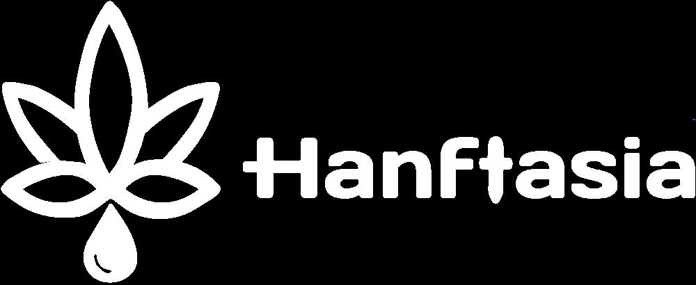 Hanftasia Logo White
